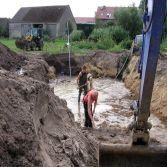 Teichbau in Dossow
